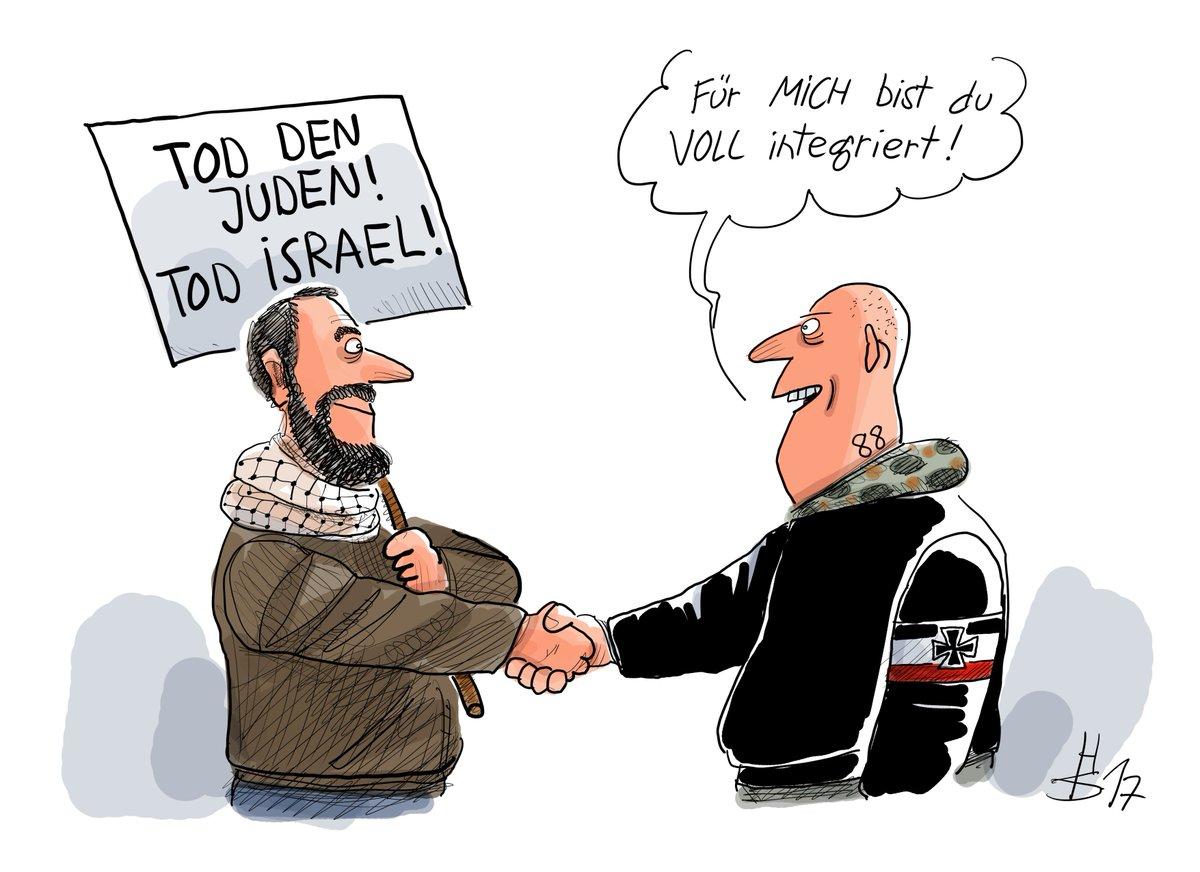 In Hass vereint - unsere Karikatur des Tages https://t.co/5VTICaCKXm