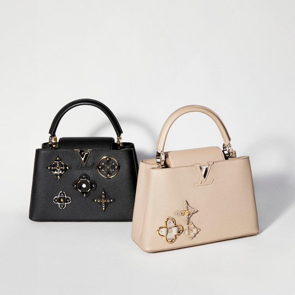 Combining glamour, beauty and grace, a timeless #LouisVuitton handbag is the gift that will always delight. Discover the full range at https://t.co/EqXT7UOeis #LVGifts