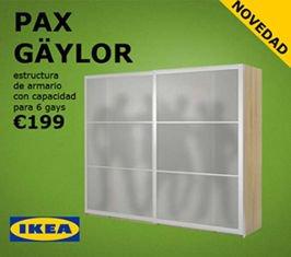Ikea presenta un nuevo armario con seis gays de capacidad https://t.co/xuTh3qyZ7l