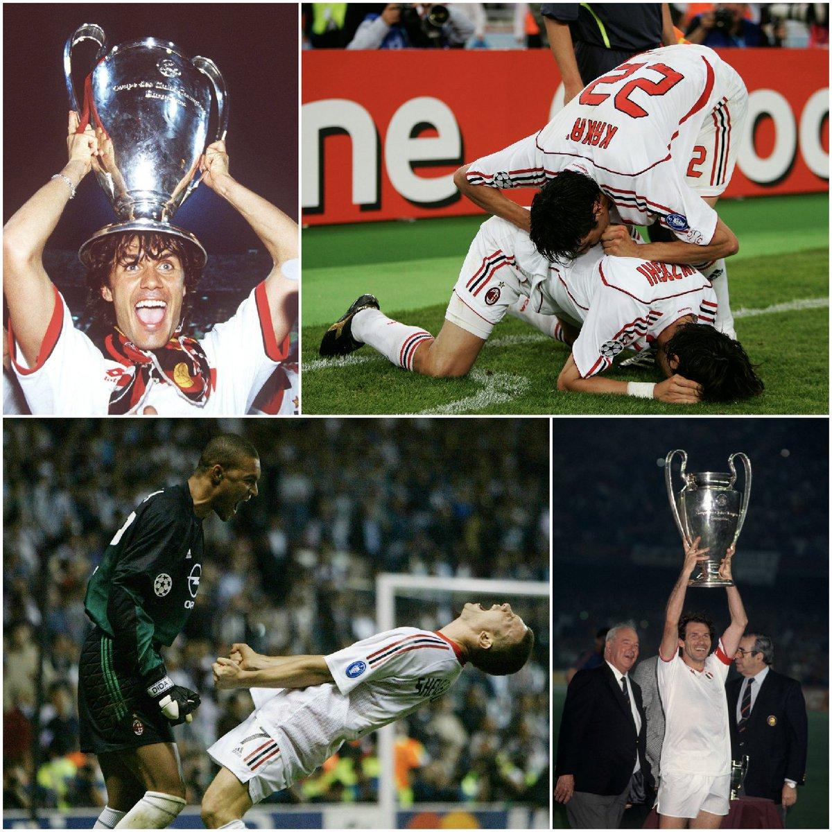 🔴⚫ 1️⃣1️⃣8️⃣  Buon compleanno @acmilan 🎂👏  @ChampionsLeague 7🏆 @SerieA_TIM 18🏆 FIFA #ClubWC / Coppa Intercontinentale 4 🏆 Supercoppa UEFA 5🏆 Coppa Italia 5🏆 Coppa delle Coppe 2🏆
