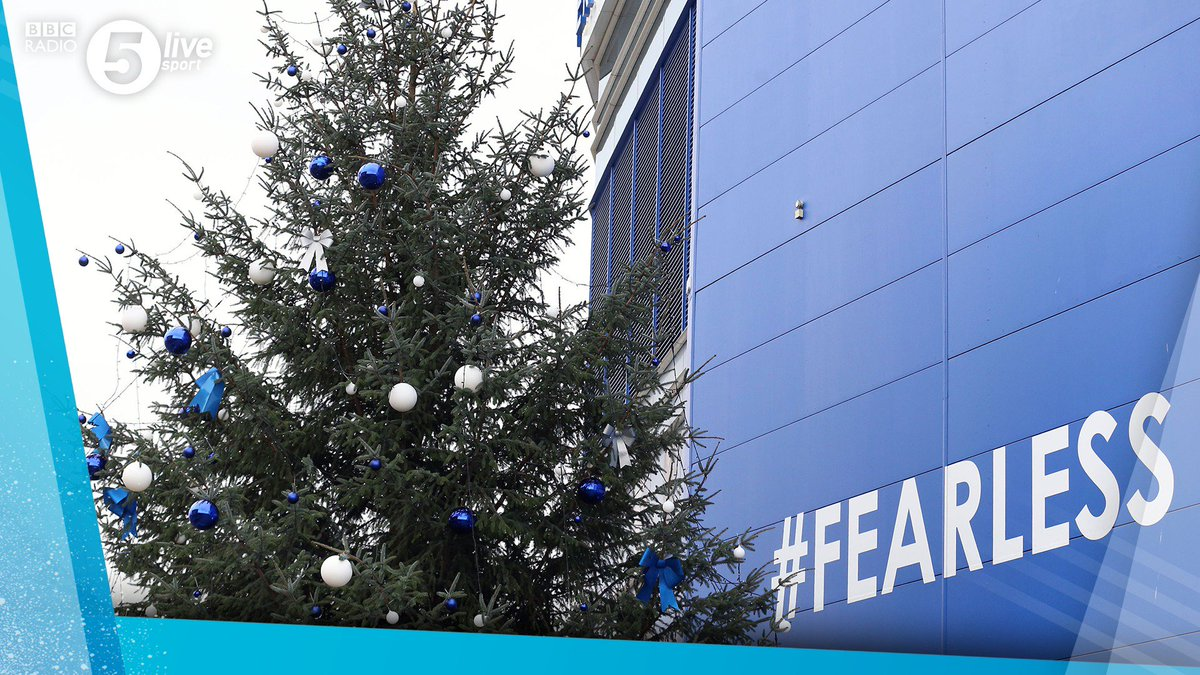 Blue baubles 🤔  #LCFC are getting into the Christmas spirit in their own way! 🎄🔵  📻 https://t.co/h3GKPeCtgl #LEICRY