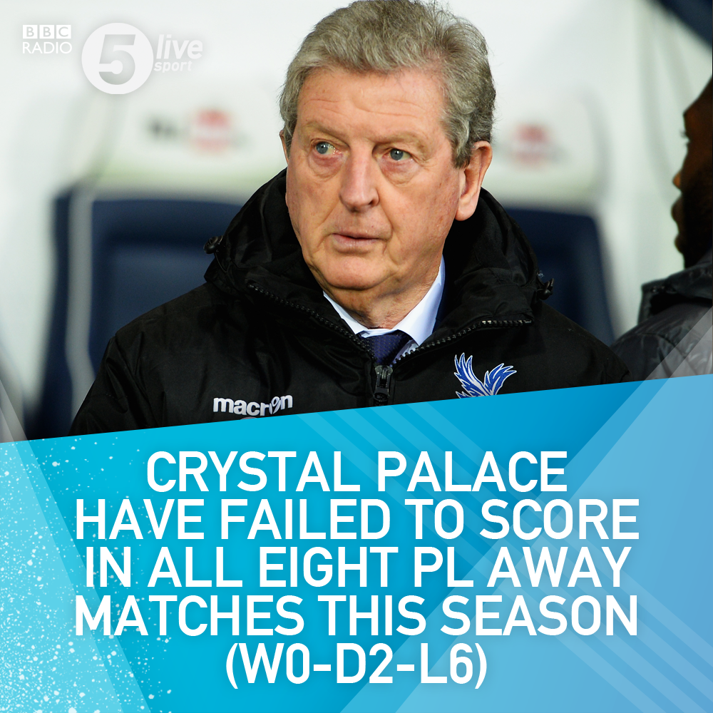 #CPFC could break an all-time top-flight record today.  It's not one to shout about 😬  📻 https://t.co/h3GKPeCtgl #LEICRY