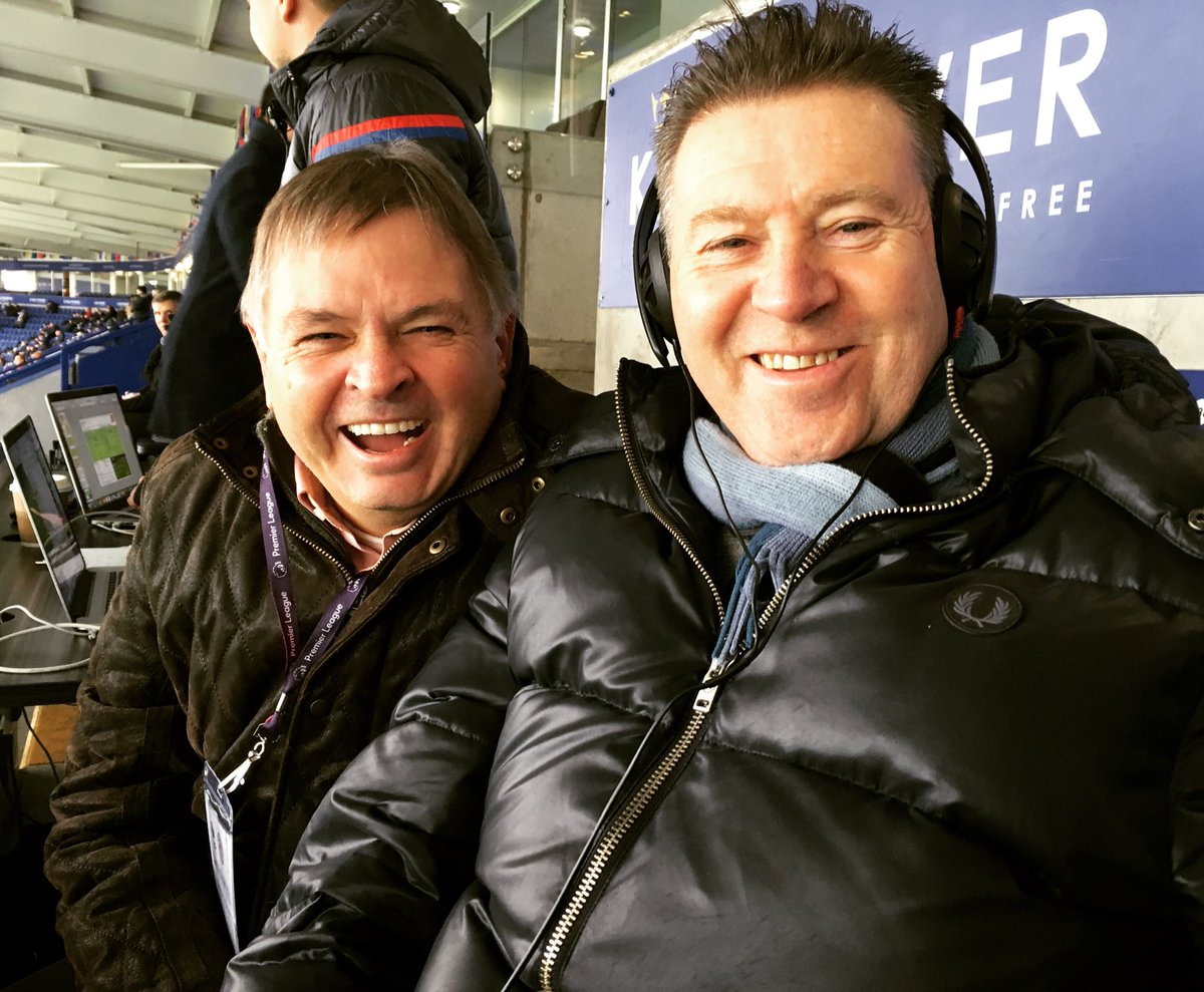 Alan Green and @chriswaddle93 are on the mic for our first #PL commentary.  Join us for #LEICRY  📻https://t.co/h3GKPeCtgl