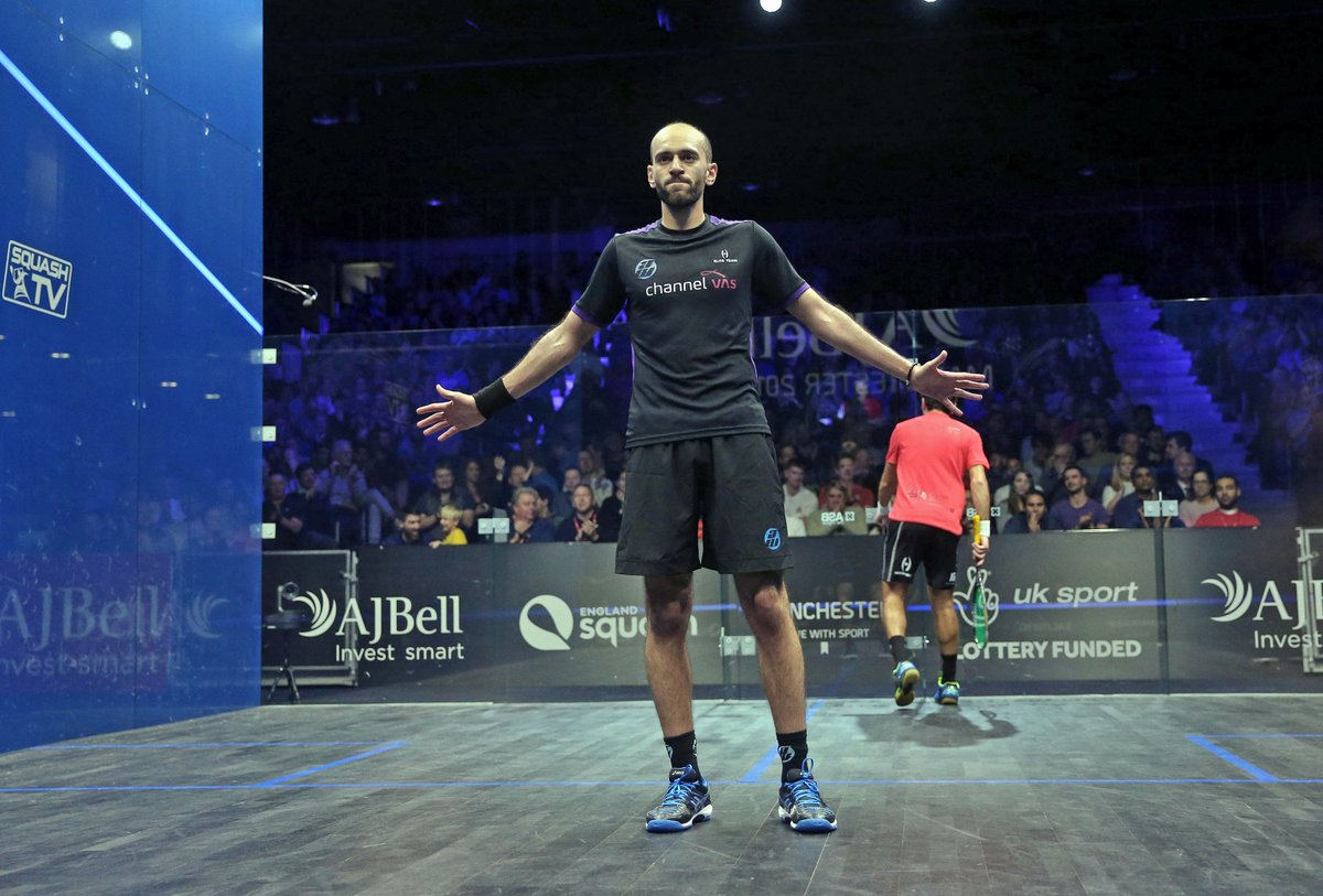 test Twitter Media - StatAttack: Both @AliFarag and @maelshorbagy are battling for a place in their maiden @PSAWorldChamps final #AJBellWorldChamps https://t.co/xvt1XwlMBa