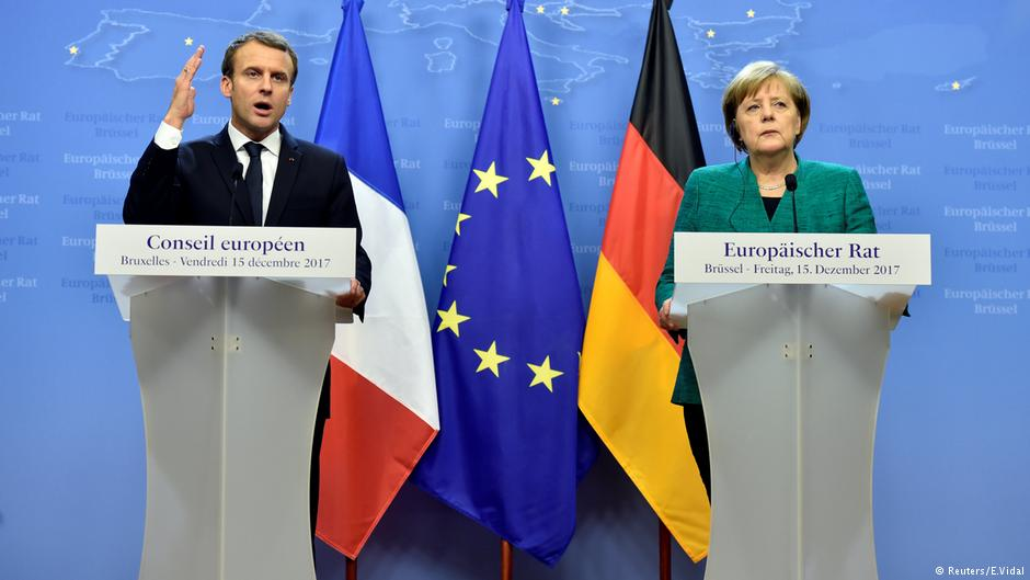 Angela Merkel and Emmanuel Macron set eurozone reform plan deadline https://t.co/glwh3beVVO