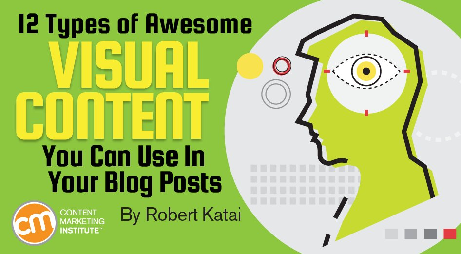 12 must-do visual #content formats  http:// cmi.media/ps8c  &nbsp;   by @katairobi<br>http://pic.twitter.com/XcooWXv7iT