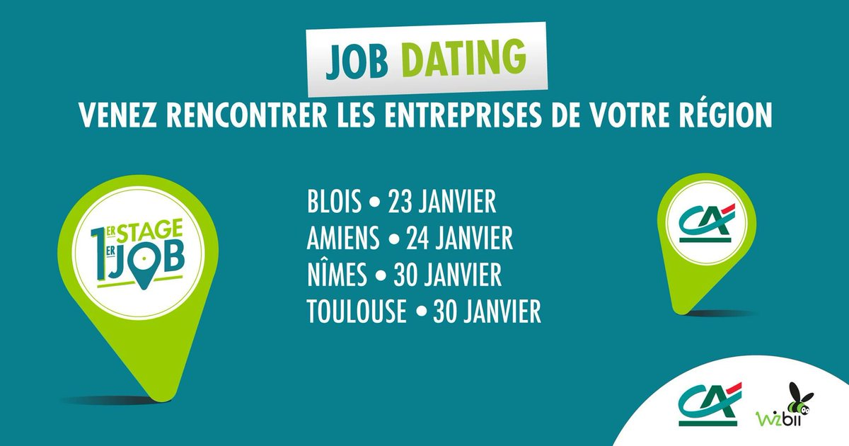 job dating credit agricole morbihan