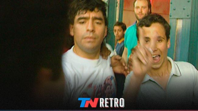 #TNRetro | El día que Maradona casi se va a las manos por los jubilados https://t.co/SUvSegaaVi