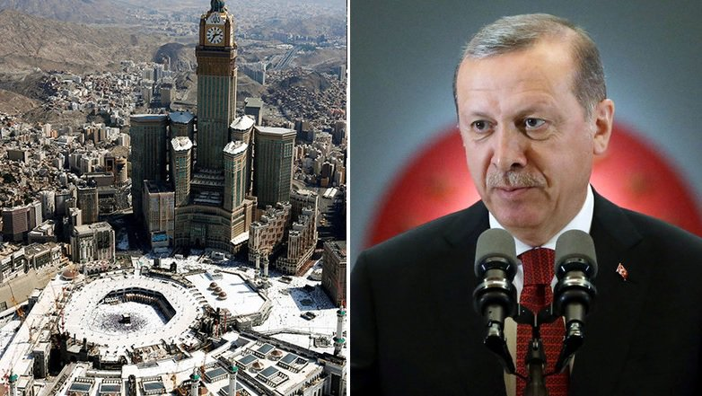 Muslims may lose #Mecca if they fail to hold on to #Jerusalem – Erdogan https://t.co/OYGJdJMLan