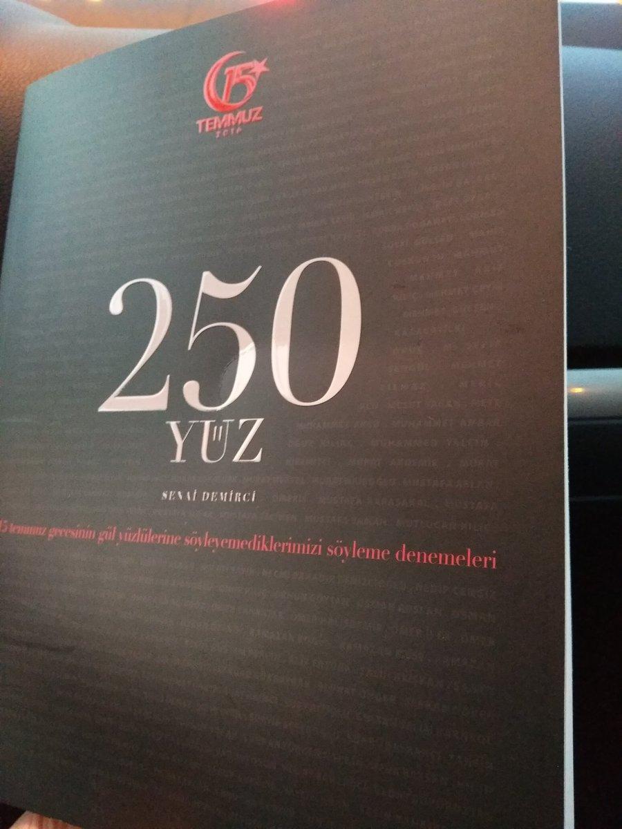 RT @senaidemirci: Ve #15Temmuz kitabımız #250Yüz çıktı. @ https://t.co/lhAqxEeDKO