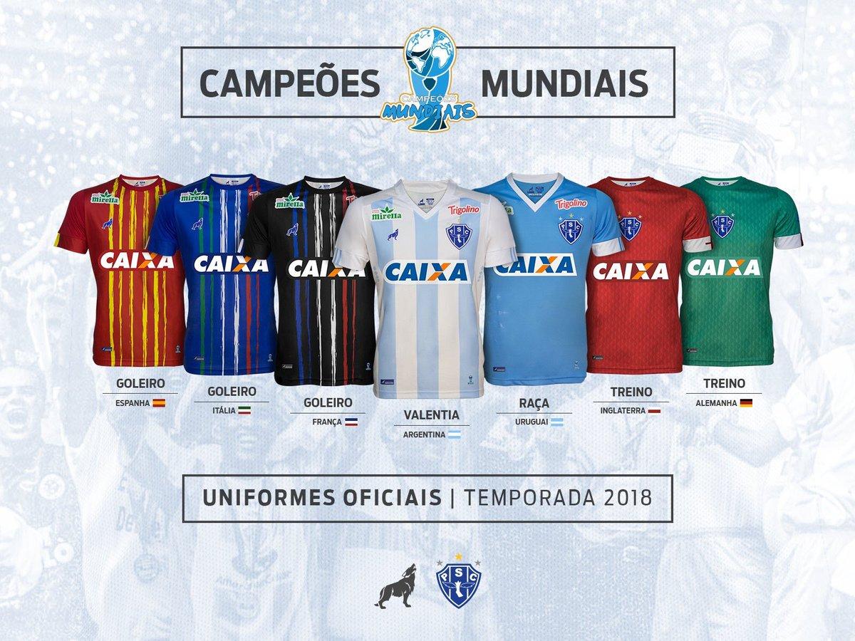 Las camisetas de Paysandú para 2018 rendirán homenaje a los campeones del Mundo