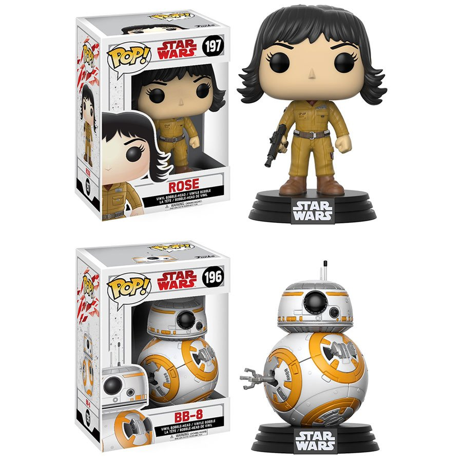 RT @OriginalFunko: RT & follow @OriginalFunko for the chance to win a Rose and BB-8 Pop! prize pack! #TheLastJedi https://t.co/mkFDPm1fti