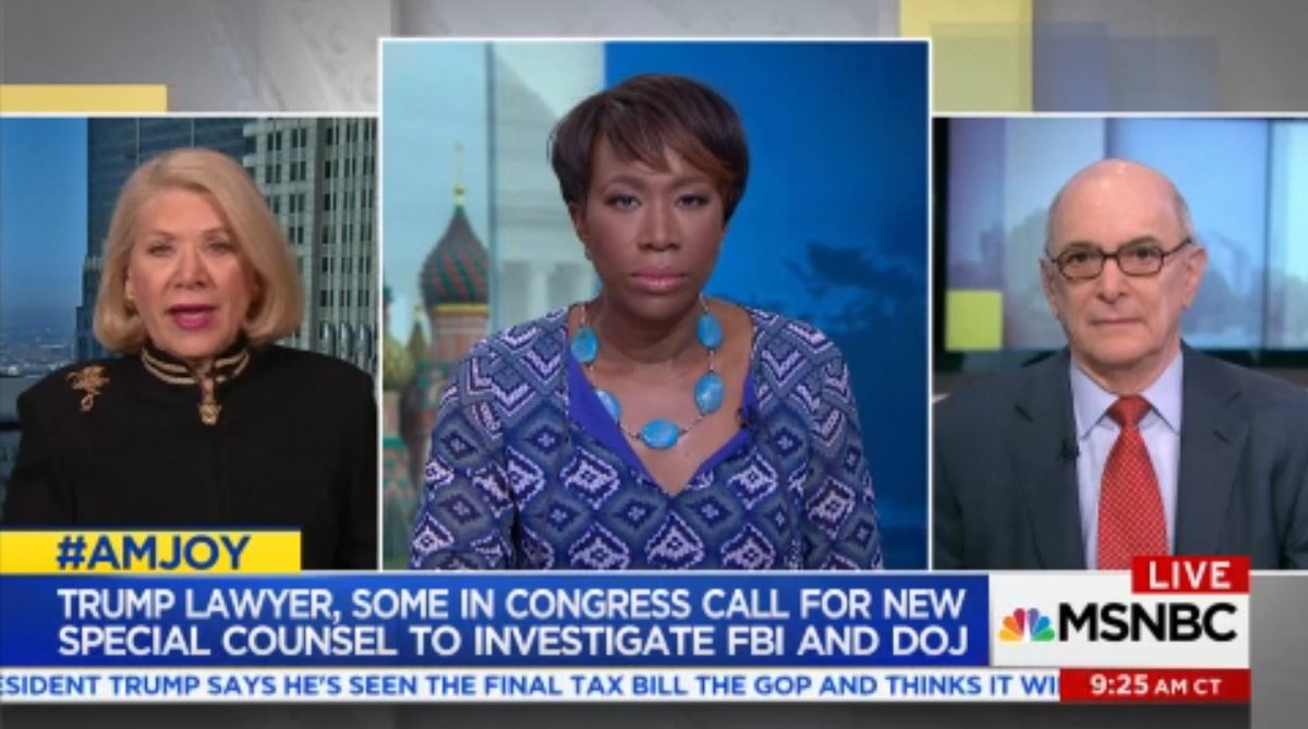 .@JILLWINEBANKS: This is unprecedented in American history and Americans should be very alarmed at the choice that may be made to fire #Mueller. That has to be a red line.  LIKE TO AGREE  #AMJoy #Russia <br>http://pic.twitter.com/K4NAtGliZx
