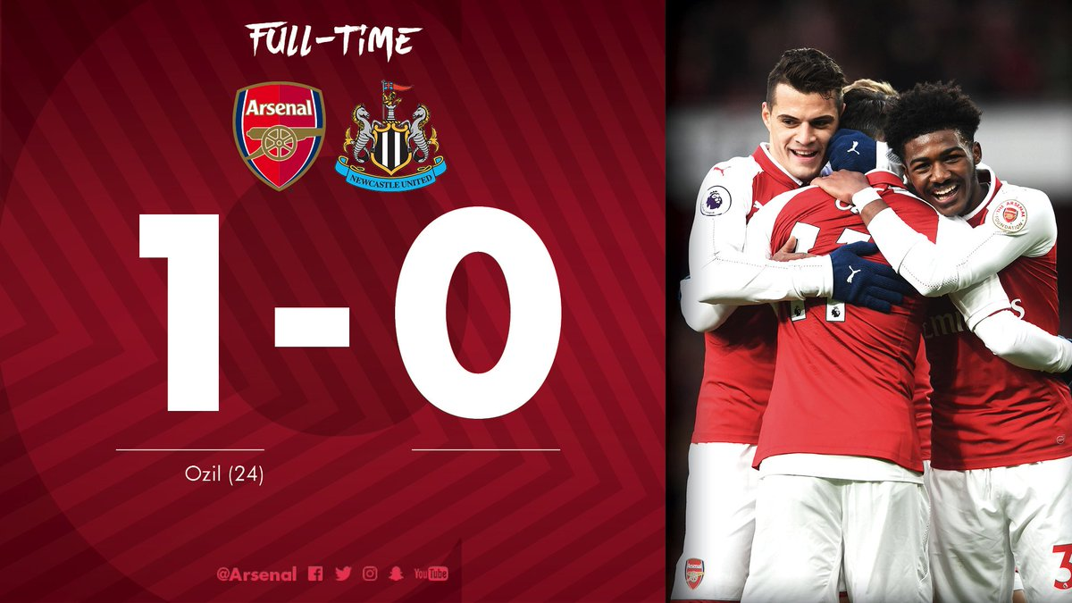 Chấm điểm trận Arsenal 1-0 Newcastle