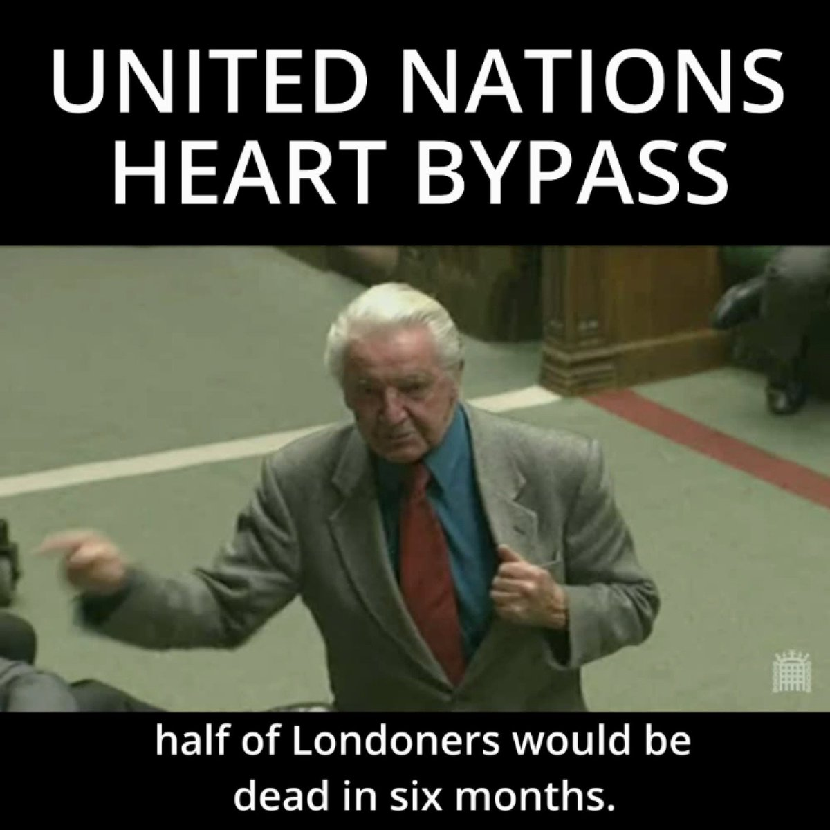 Jeremy Corbyn's photo on Dennis Skinner