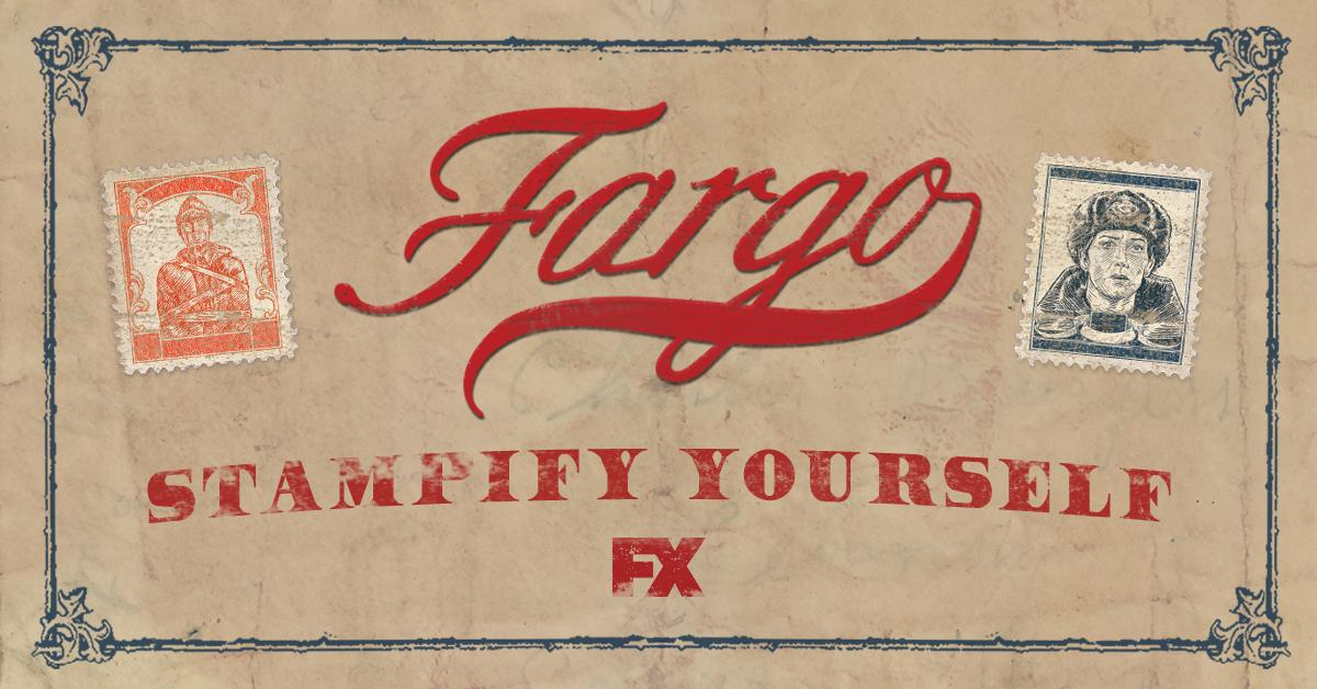 Aw jeez, is that your face on a #Fargo stamp? You betcha. Stampify Yourself now: bit.ly/2CplrCq