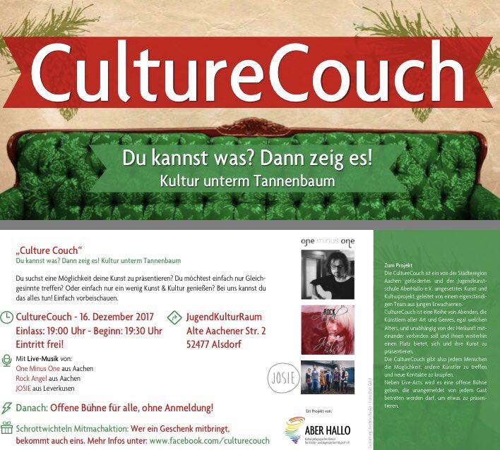 Tannenbaum Aachen.Culturecouch Hashtag On Twitter