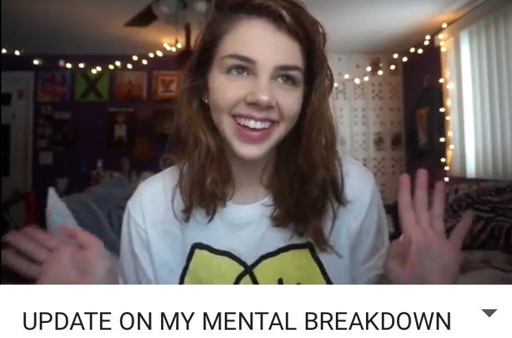 umm so the emotional breakdown girl is a...