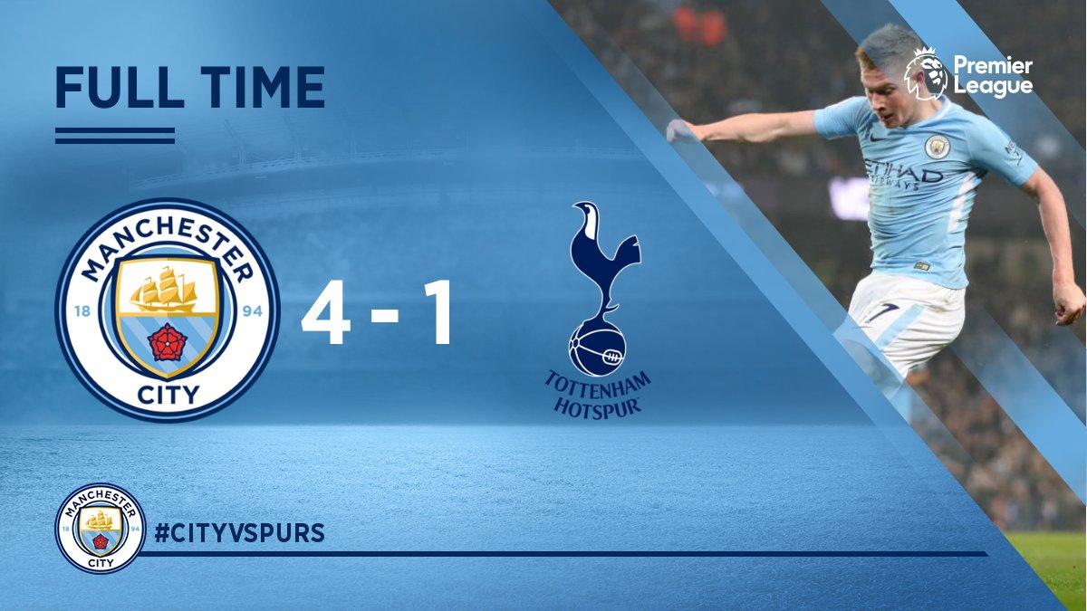 Chấm điểm trận Manchester City 4-1 Tottenham