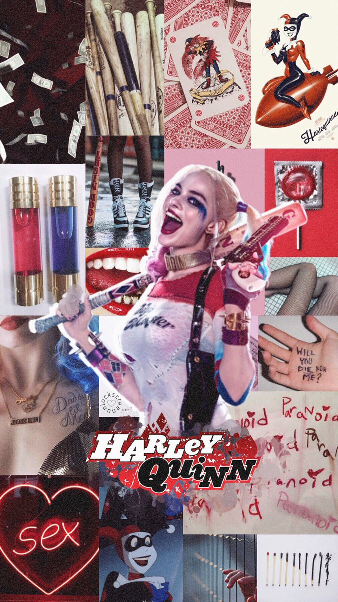 Lockscreen On Twitter Harley Quinn And Joker Aesthetic Rt If You Save Fav If You Liked Lau Teamdcus Marvelvsdc