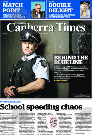 #FrontPages 🗞Sunday @canberratimes https...