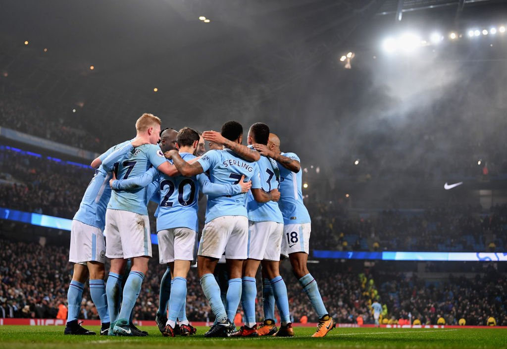 16 wins on the bounce 🙌 56 goals for the season ⚽️  We've got live player and manager reaction after another emphatic Man City win 👉 https://t.co/GSHBidFZFw