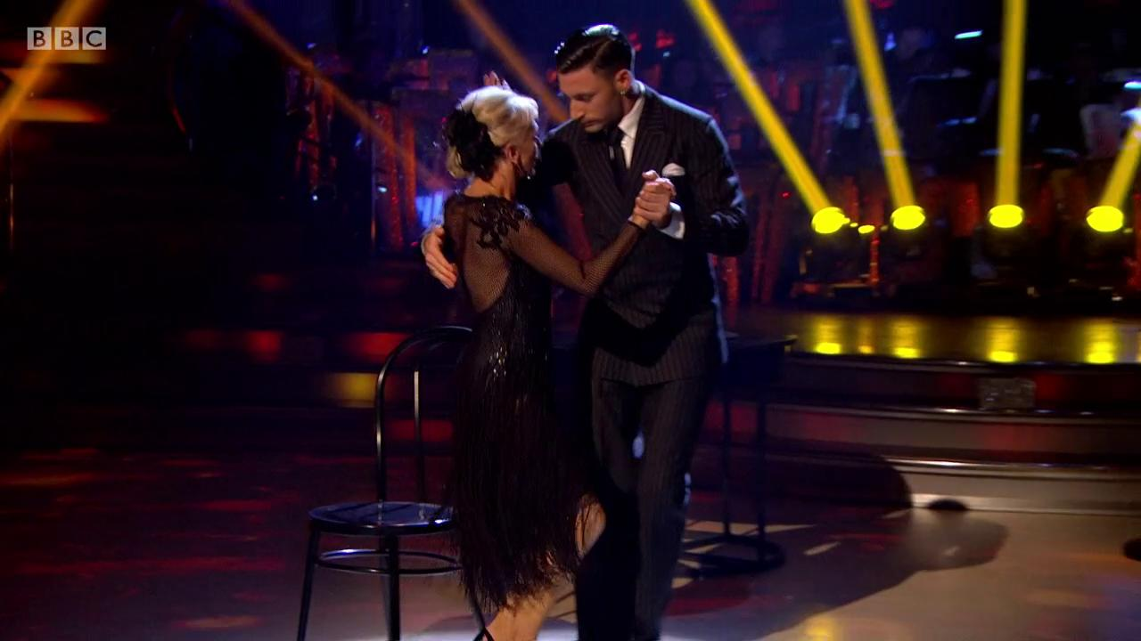 Leggie McGee is BACK and she's fiercer than ever💃 @debbiemcgee @pernicegiovann1 #StrictlyFinal https://t.co/xpyx1wZZOB