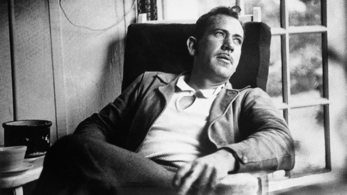 And now that you don&#39;t have to be perfect, you can be good.  —John Steinbeck, &#39;East of Eden&#39;  #Books #Literature <br>http://pic.twitter.com/4JE0rhlGtI