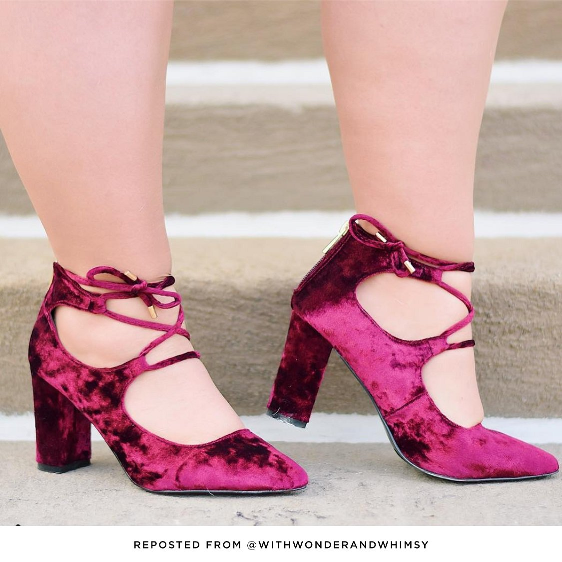 4d8e7f44bc0 Shop statement shoes like this pair featured by one of our favorite  bloggers