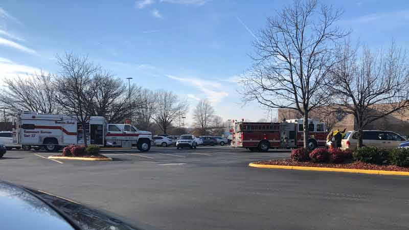 Emergency response crew called to Sam's Club on Hanes Mall Boulevard after fluid spill https://t.co/uinlfpyv9s