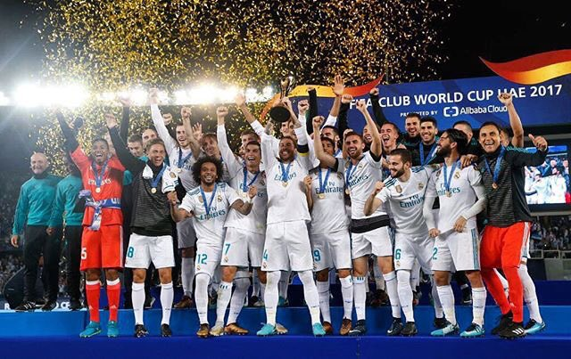 Proud!!! Champions of the world ⚽️ https://t.co/HpRRty01r2
