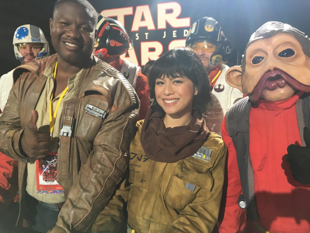 Meet some most impressive cosplayers from the red carpet of #TheLastJedi. https://t.co/VGfFU2lMJ4