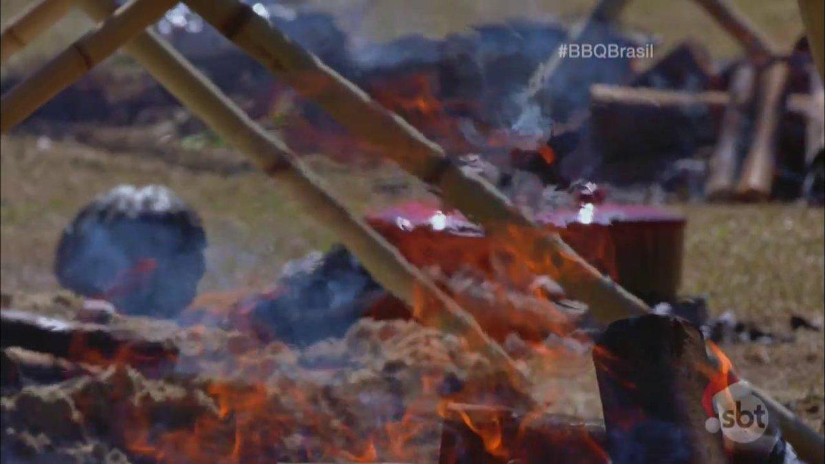 Olha o fogo 🔥 #BBQBrasil #BBQBrasilFinal...