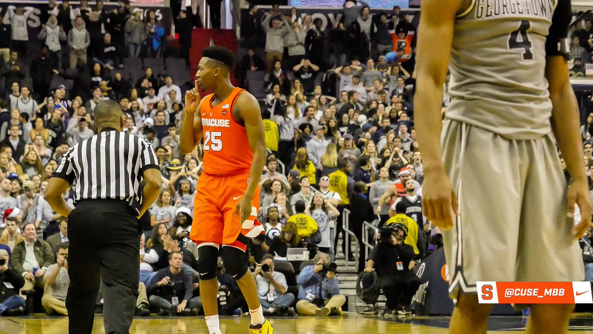 Syracuse storms back to beat Hoyas in OT (full coverage)