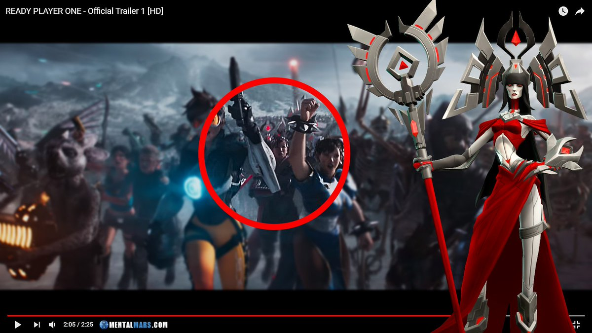 Borderlands And Battleborn Easter Eggs In Ready Player One