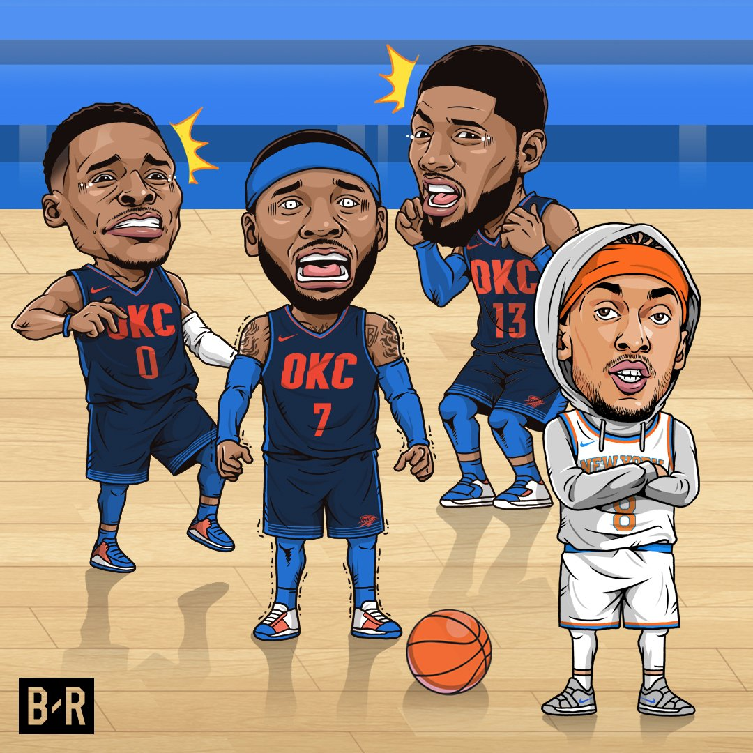 Melo who? Michael Beasley drops 30 in Knicks win.