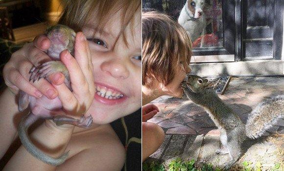 【RT100UP】 リスもやさしくしてくれた人間のことを忘れない。負傷したリスを保護し無事野生に返したが、毎年必ず顔を見せにやってくる https://t.co/NBmfIKqyLe