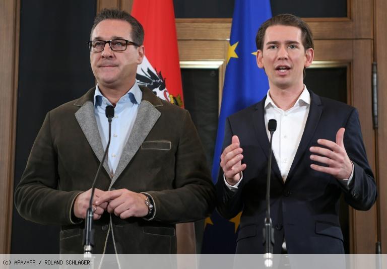 Autriche: trois ministères régaliens pour l'extrême droite, pas de référendum sur l'UE https://t.co/GsE1mWxke0