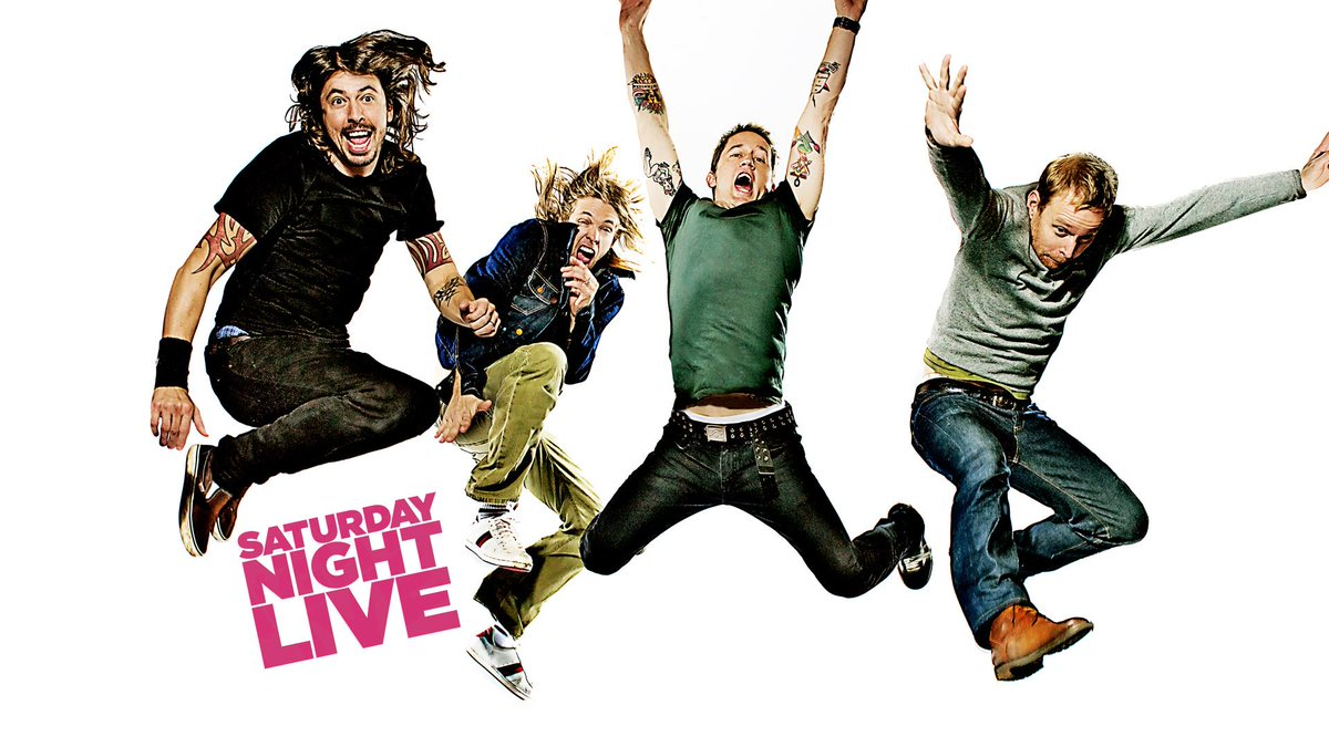 Foo Fighters Snl Christmas.Foo Fighters On Twitter Foos Nbcsnl Through The Years