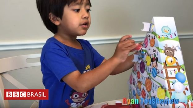 O menino de 6 anos que ganha R$ 36 milhões ao ano desempacotando brinquedos no YouTube https://t.co/Lv1nq8hkJL
