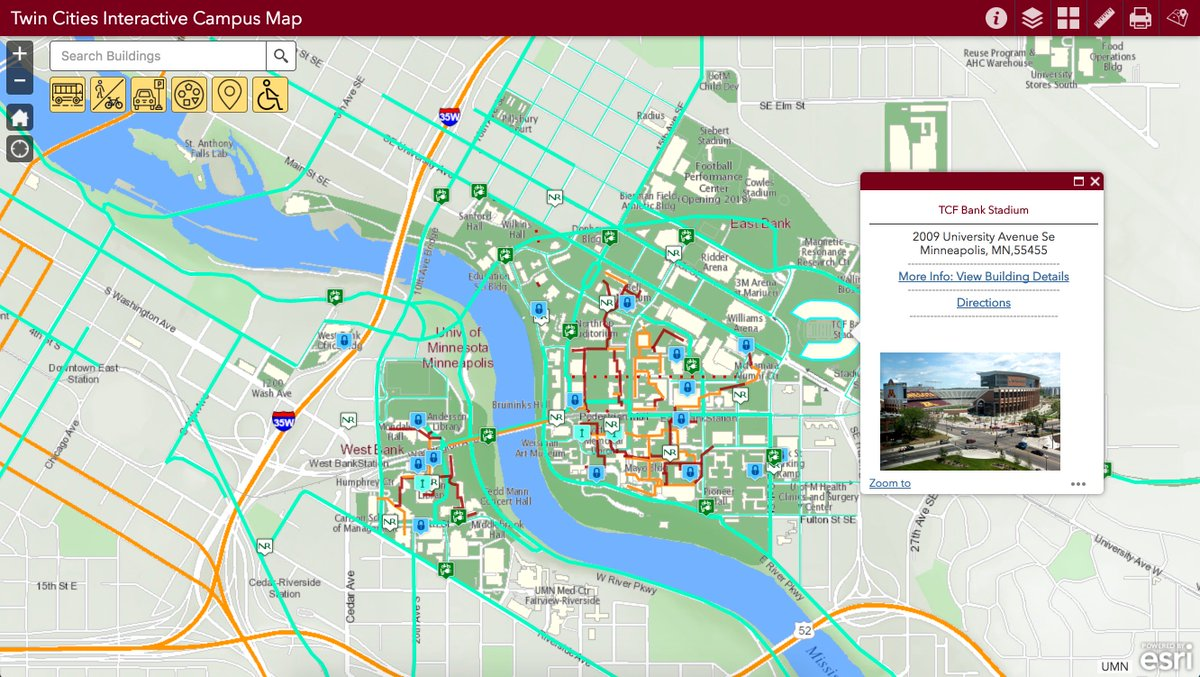 map of university of minnesota campus map of university of minnesota campus