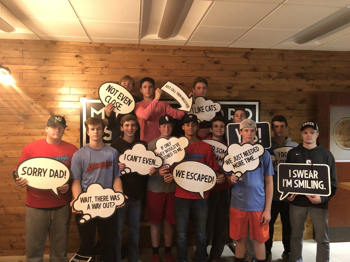 Blueprint baseball blueprintbball twitter profile stwity great team building night for the blueprintbball 15u2021 team at murfrescaperooms malvernweather Gallery