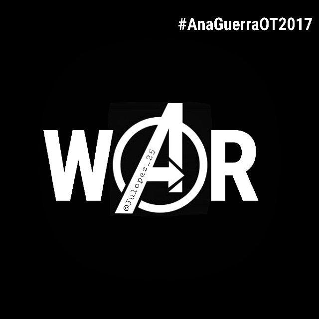 #AnaWar #AnaWarrior #OT2017 #OperacionTriunfo2017  @OT_Oficial https://t.co/DTsVjii9Fe