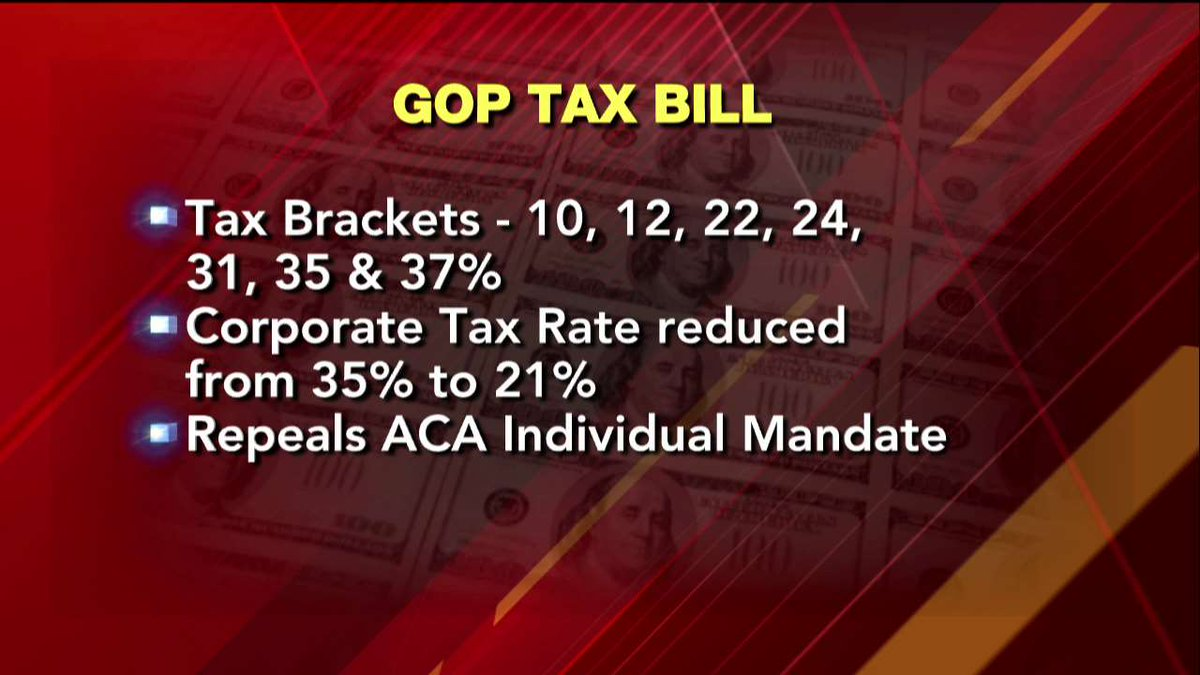 GOP tax bill.