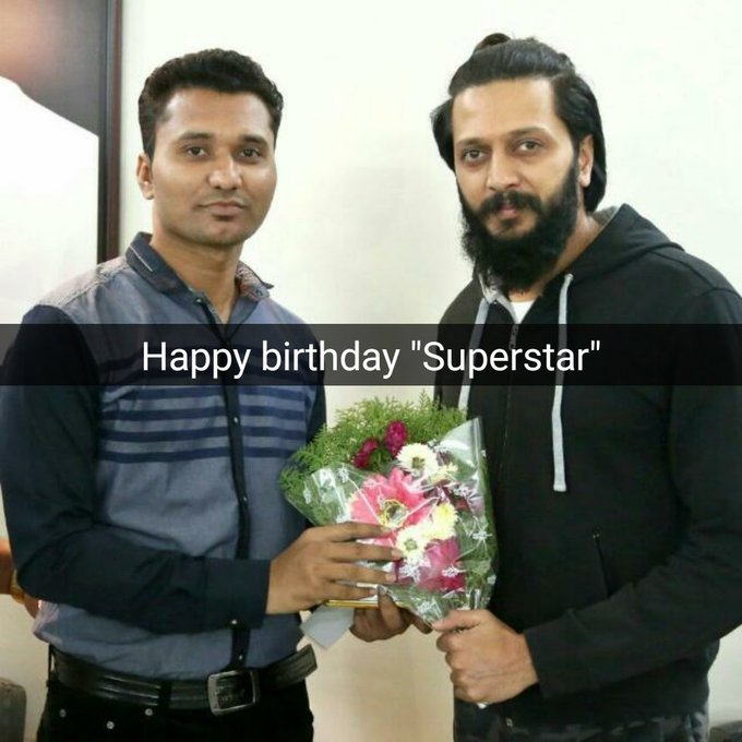 birthday Superstar(Riteish Deshmukh)