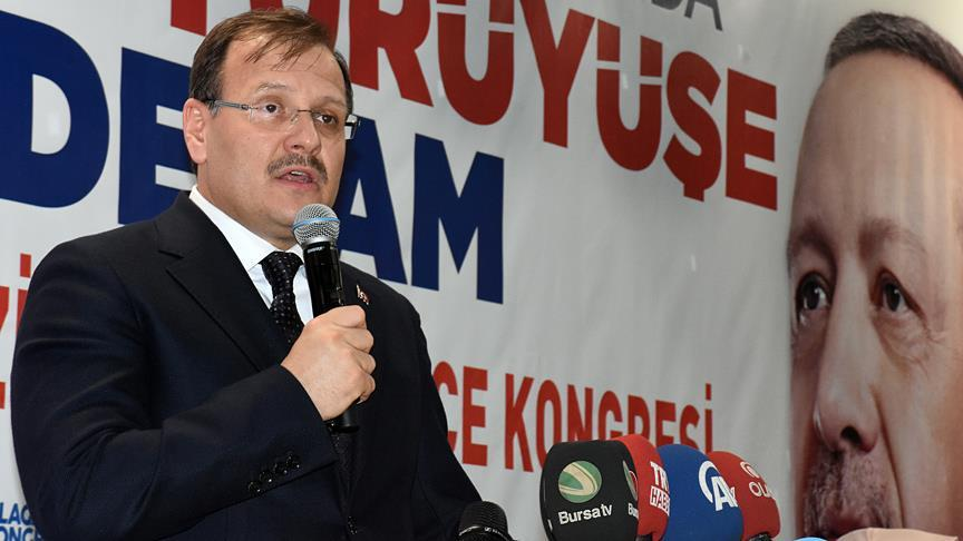 Başbakan Yardımcısı Çavuşoğlu: Bizim içi...