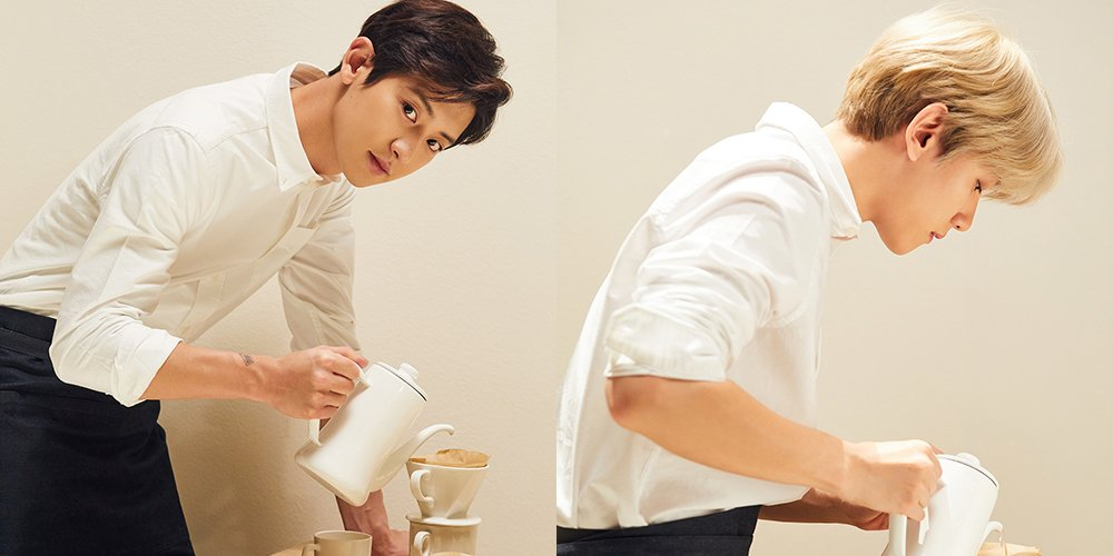 Chanyeol and Baekhyun are hot baristas for EXO's 'Cafe Universe' https://t.co/ZUfaRGRusw