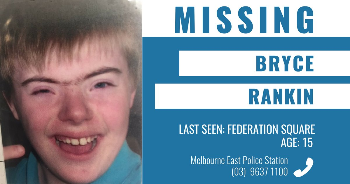 Police are appealing for public assistance to help locate missing Sale boy Bryce Rankin. More ➝ https://t.co/83lOABiIOX