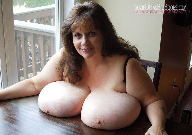 Huge Black Tits Natural