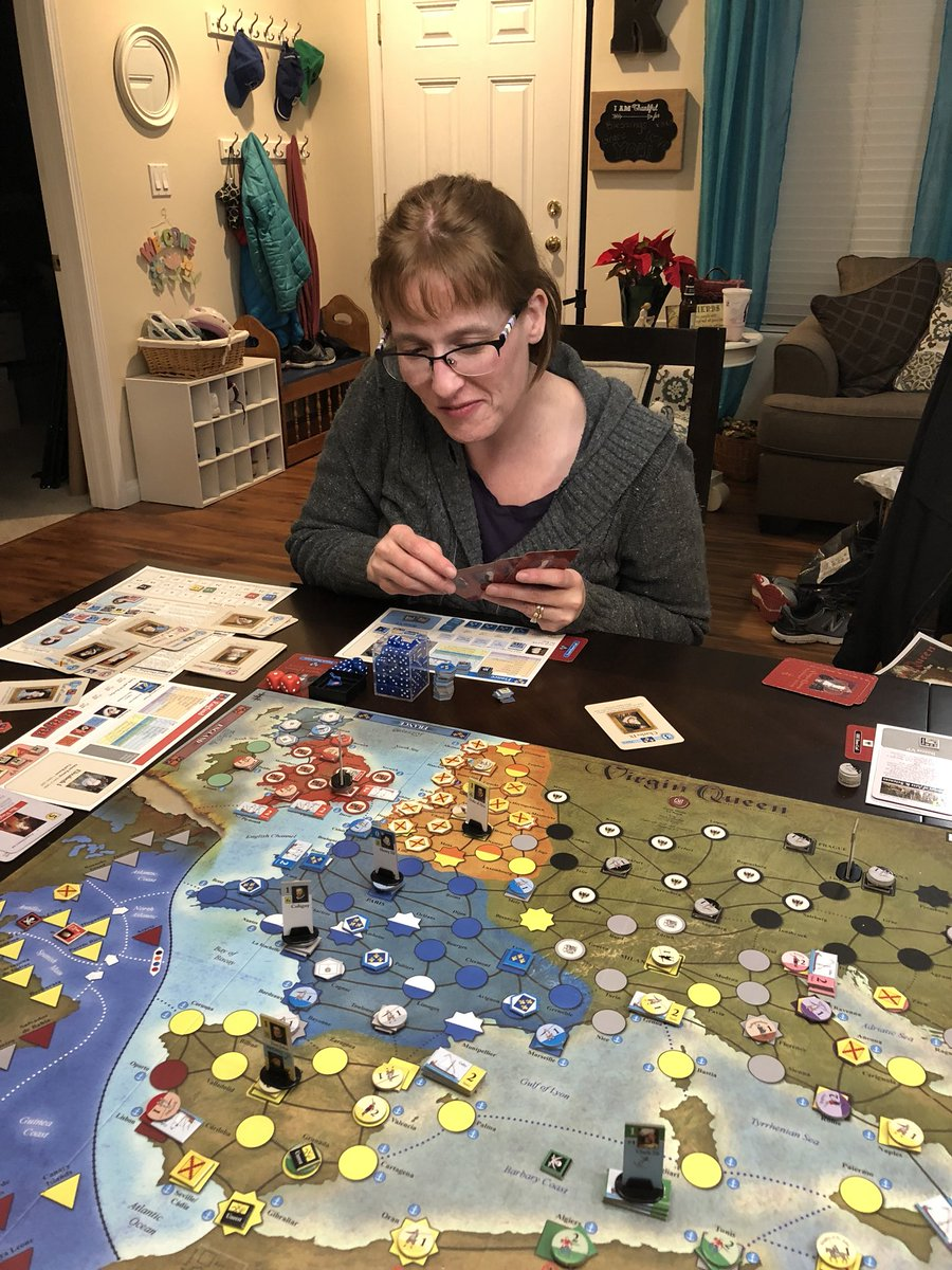 kurt keckley on twitter my wife learned gmtgames virgin queen and